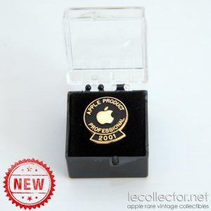 Apple professional 2001 rare lapel pin mint in box