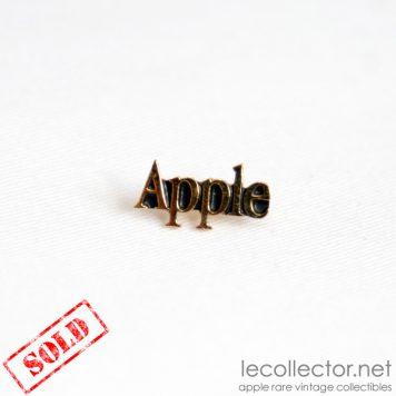 apple computer vintage rare lapel pin