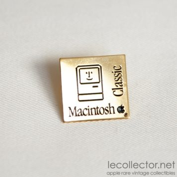 macintosh classic vintage apple computer lapel pin collector