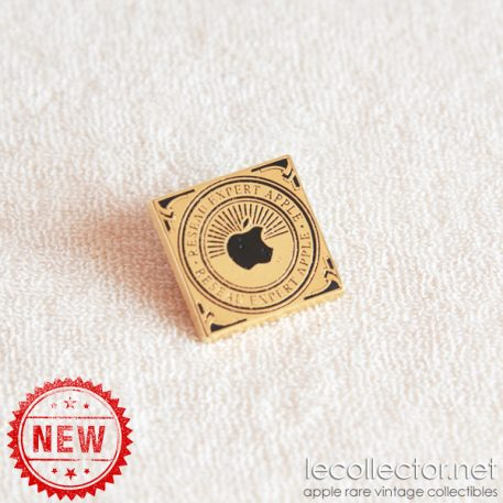 apple computer french expert team lapel pin le collector