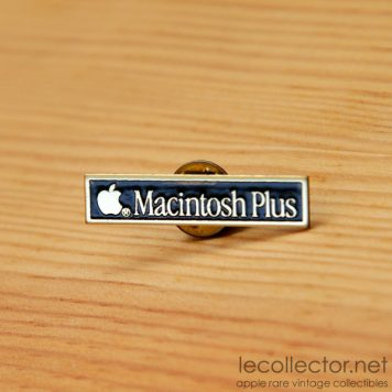apple computer macintosh plus lapel pin