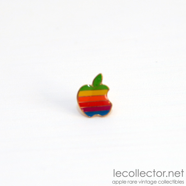 Apple Rainbow 6 Colors Lapel Pin