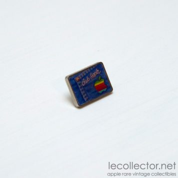 club apple lapel pin by decat paris france
