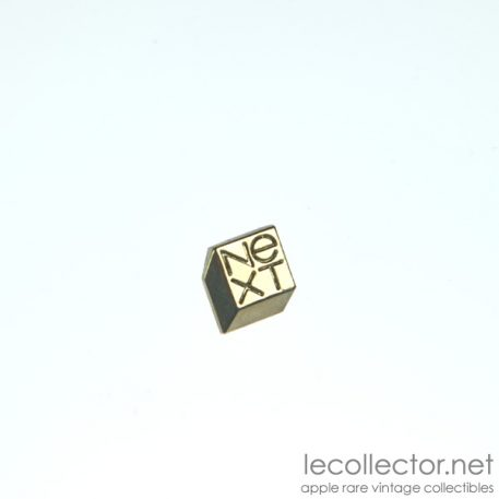 next silver square lapel pin