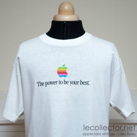 Vintage Apple Computer Power to be your best T-shirt L Large