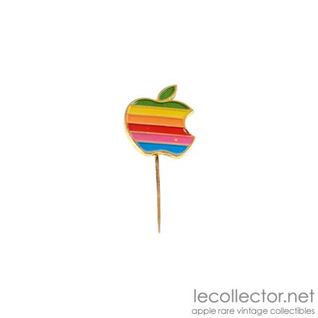 vintage apple computer stick pin le collector