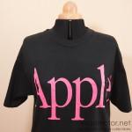 apple vintage t-shirt pink