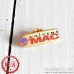 Univers Mac magazine promotionnal lapel pin