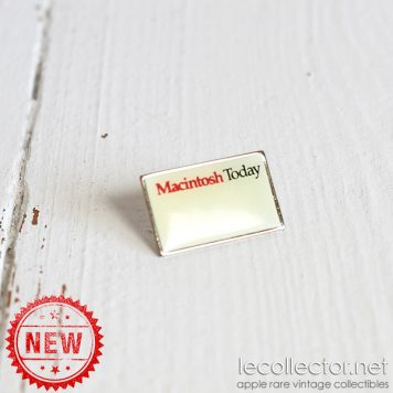 macintosh today very rare 1988 lapel pin