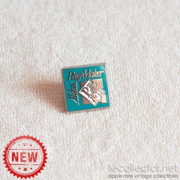 Aldus PageMaker 4 lapel pin Macintosh desktop publishing