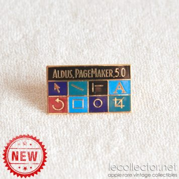 Aldus PageMaker 5 brooch Macintosh desktop publishing