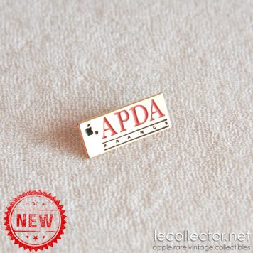 APDA France Apple developpers association lapel pin rare