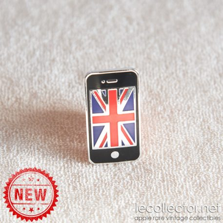 Apple iPhone black London Olympic games limited edition lapel pin
