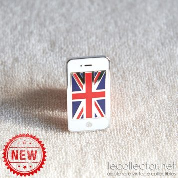 Apple iPhone white London Olympic games limited edition lapel pin