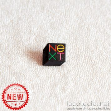NeXT computer lapel pin Steve Jobs CGM France very rare