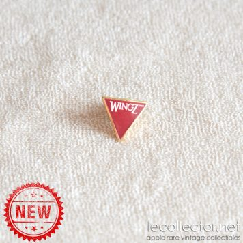Wingz Apple Macintosh software tiny rare lapel pin