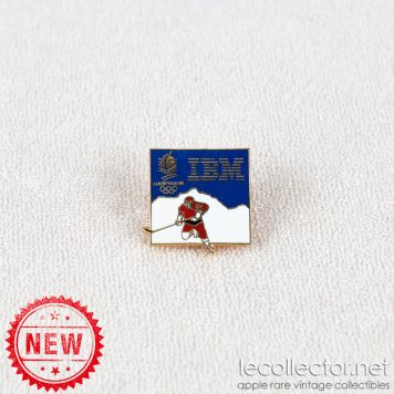 Ice hockey winter olympics Albertville 1992 IBM lapel pin