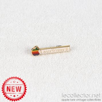 Apple LaserWriter II printer brooch pin by Decat Paris for Apple France