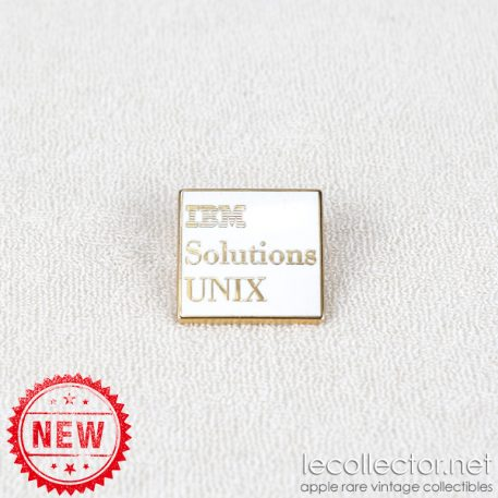 Solutions UNIX IBM square lapel pin by Arthus Bertrand Paris
