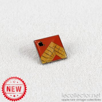 Engineering department internal Apple computer employee vintage lapel pin