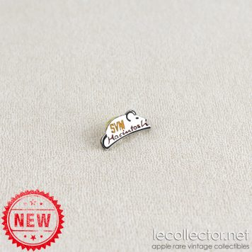 SVM Macintosh mouse early 90's lapel pin