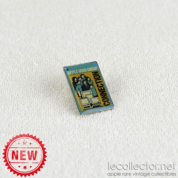 Apple user group connection very rare vintage lapel pin