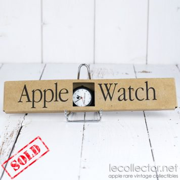 Apple watch very rare quartz watch collector of the late 90s sold