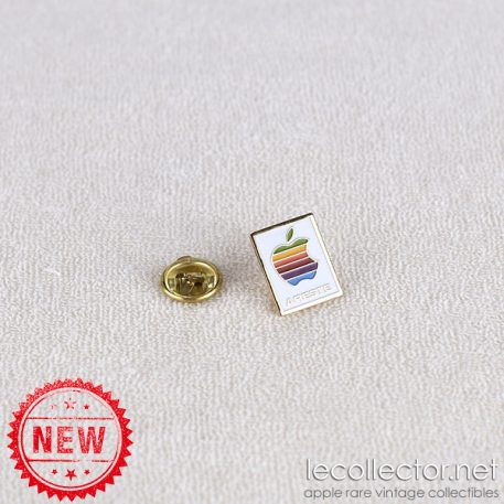 Areste french Apple authorized reseller rainbow lapel pin