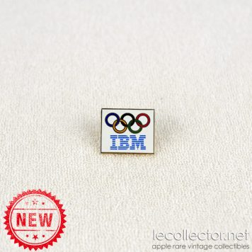IBM olympic rings hard enamel lapel pin Taiwan variant