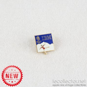Winter olympics Albertville 1992 figure skating IBM lapel pin