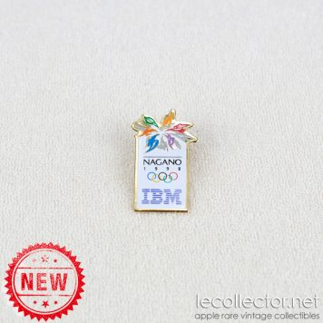 IBM Nagano winter olympic games 1998 lapel pin