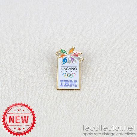IBM Nagano winter olympic games 1998 lapel pin